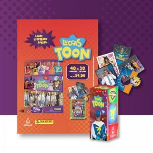 Kit Cartela de Figurinhas: 40 cromos e 10 tiktoons