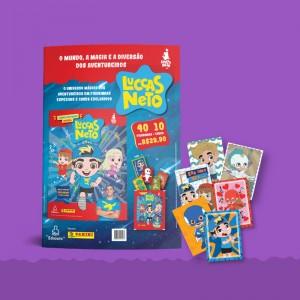 Kit Cartela - 10 envelopes (40 figurinhas e 10 cards)