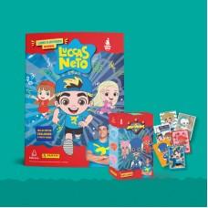 Livro Ilustrado Oficial Luccas Neto (brochura) + 10 envelopes
