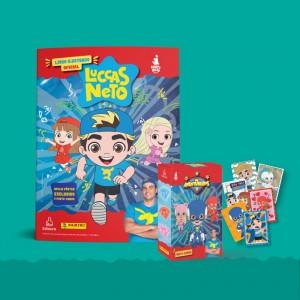 Livro (brochura) - 10 envelopes (40 figurinhas e 10 cards)