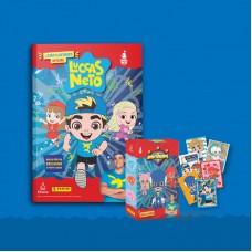 Livro Ilustrado Oficial Luccas Neto (capa dura) + 5 envelopes